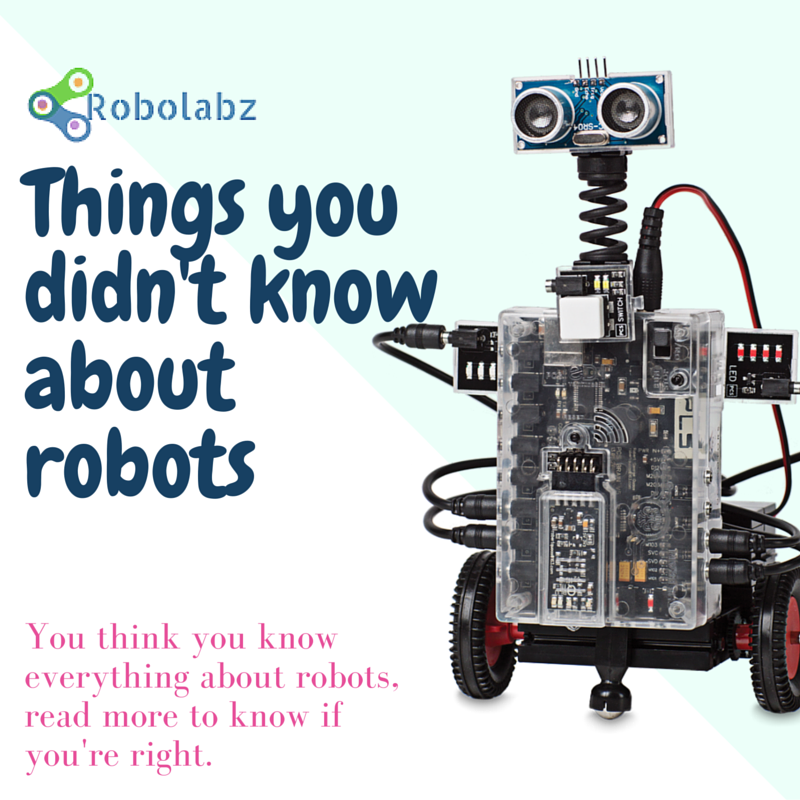 Things you didn't know about robots (1)